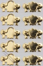 Miniature Brass Drawer Pulls For Dollhouses