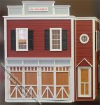 Real Good Toys 80, Assembled Fire Station Dollhouse