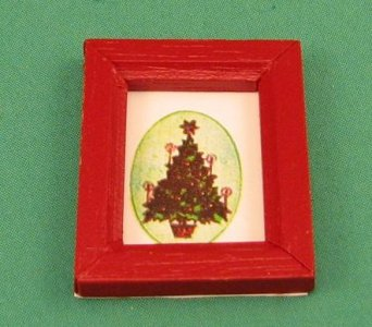 Christmas Tree in a Frame