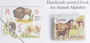 Dollhouse Scale Model Book An Animal Alphabet
