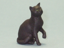 Dollhouse Scale Model Bombay Cat by Karl Blindheim