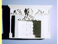 Miniature Fireplace - Click Image to Close