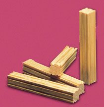 "5"" Fluted Posts for Fashion Dollhouse Scale Models, 10/pkg."