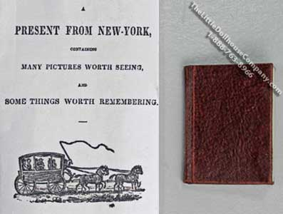 Miniature Book: 'A Present from New York'