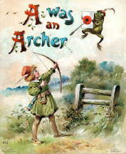 Miniature Book: A Was an Archer (Children's Book)