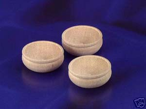 Wooden Bowls (3pc)