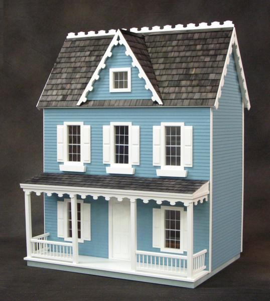 Real Good Toys Jm401 Vermont Farmhouse Jr Dollhouse Kit