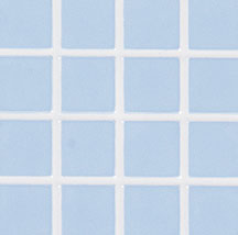 Dollhouse Scale Model Powder Blue w/White Grout Vinyl Tile Floor