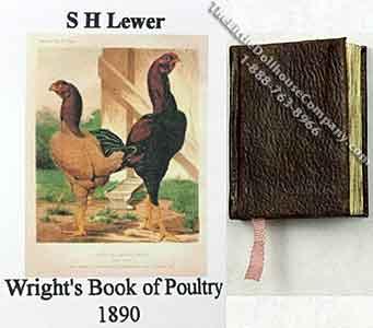 Miniature Book: 'Cassell's Book of Poultry'