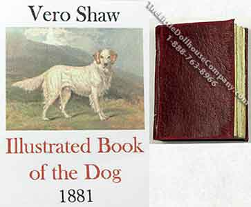 Miniature Book: 'Illustrated Book of the Dog'